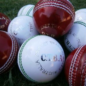 cricket field ball