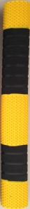 Cricket bat grip-yellow-black