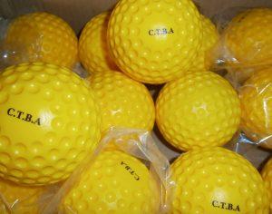 C.T.B.A bowling machine balls